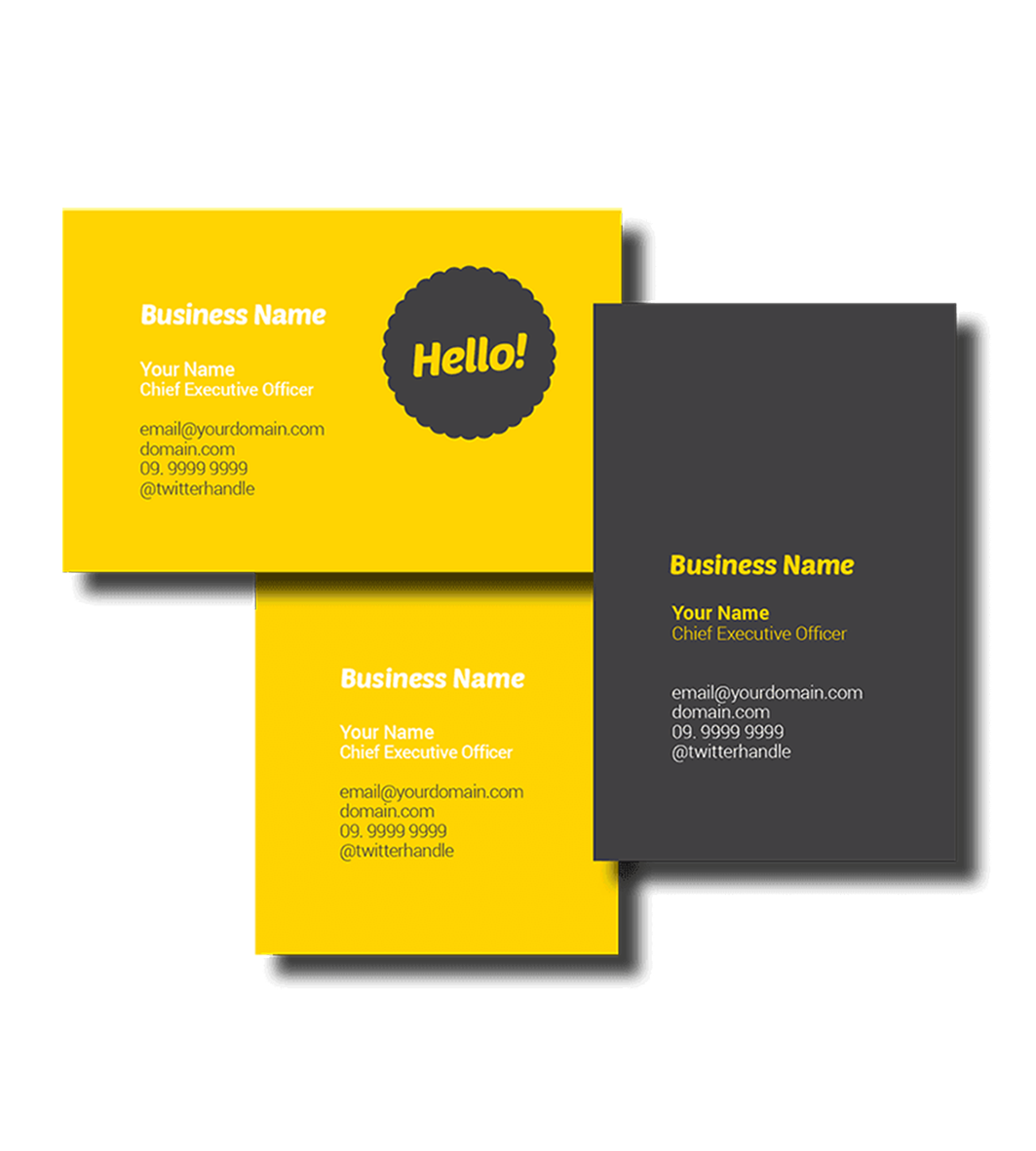 name card printing  master color services